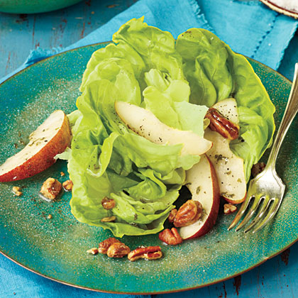Leafy Green Salad with PearsRecipe