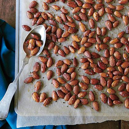 Italian-Roasted AlmondsRecipe