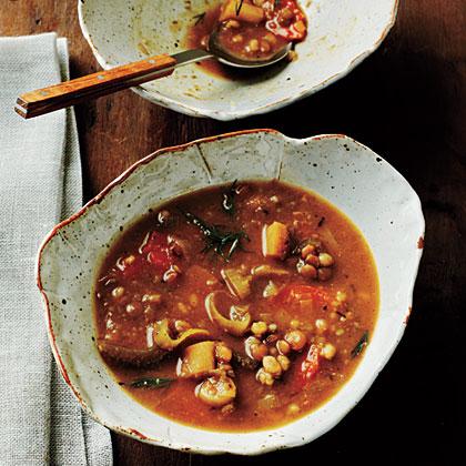 Lentil-Barley Soup