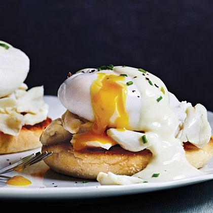 Crab Eggs Benedict Recipe | MyRecipes