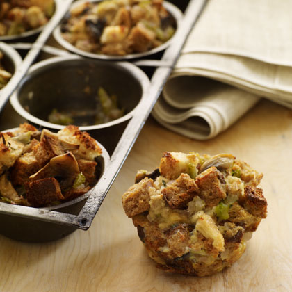 Buttermilk and Herb Stuffing Muffins