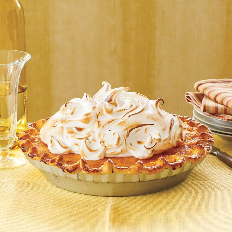 Sweet potato pie with marshmallow meringue recipe myrecipes for Southern living login