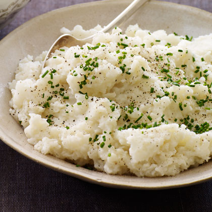 Creamy Turnip-Potato Puree
