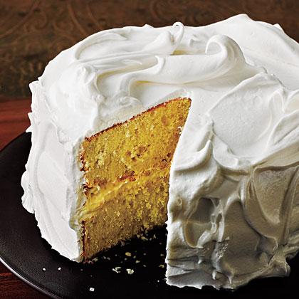 Vanilla Cake With Italian Meringue Frosting Recipe Myrecipes