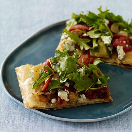 Vegetable Pizza Crisp