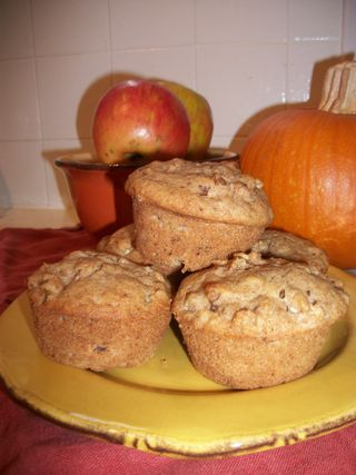 Tree-to-Oven Apple Muffins