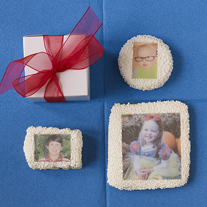 One of our editors' favorite kids lunchbox ideas, custom cookies.