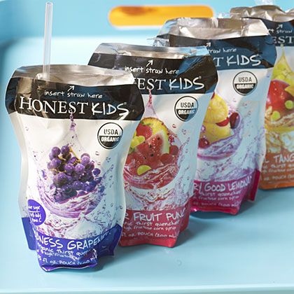 One of our editors' favorite kids lunchbox ideas, organic fruit drinks.