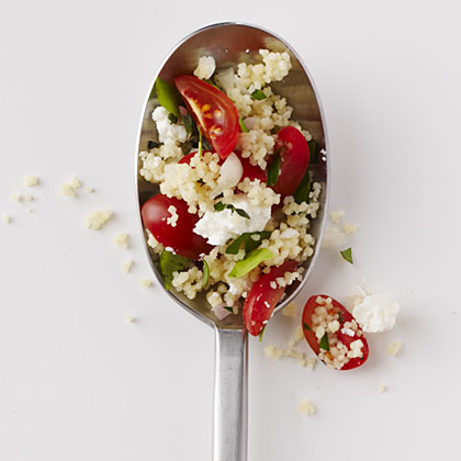 Tomato-Feta Couscous Pilaf