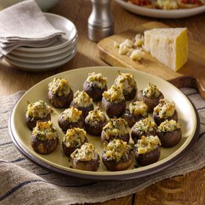 Balsamic-Glazed Stuffed Mushrooms by Hellmann's® Mayonnaise