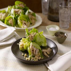 Turkey Ssam (Lettuce Leaf Wrap) or Korean Lettuce Leaf Wraps by Hellmann's® Mayonnaise