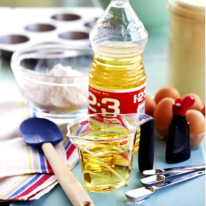 Vegetable oil, a mixture of corn, safflower, and canola oils, is a great all-purpose oil with a neutral flavor.  It has a high smoke point, so it's good for frying.  Vegetable oil is perfect for baking too, and keeps muffins, cakes, and more from drying out.