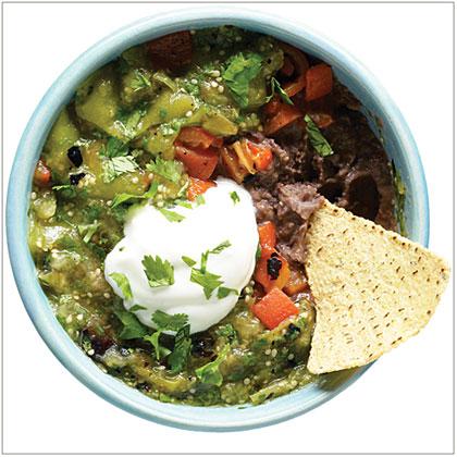 Black Bean Tomatillo Dip