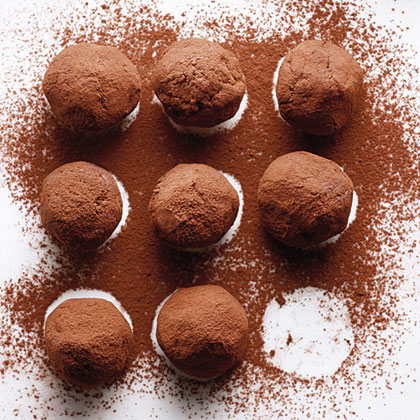 Bourbon-Caramel Truffles