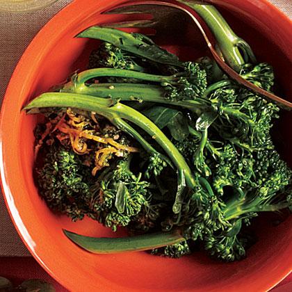 Broccolini with Anchovy Gremolata
