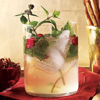 White Cranberry SpritzerRecipe