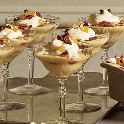 Gingery Banana Pudding with Bourbon Cream