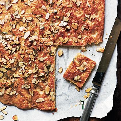 Honey-Almond Focaccia with Rosemary