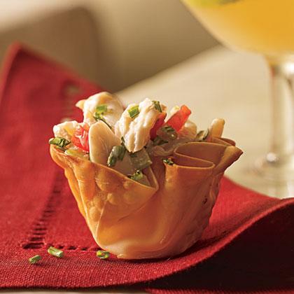 Mini Crab Cups