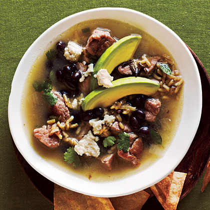Pork and Wild Rice SoupRecipe
