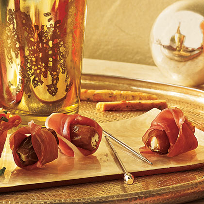 Prosciutto-Wrapped Stuffed Dates