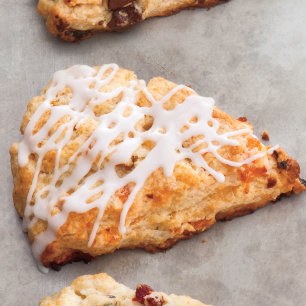 Apricot-Ginger Scones