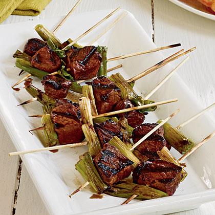 Beef Tenderloin Yakitori Recipe