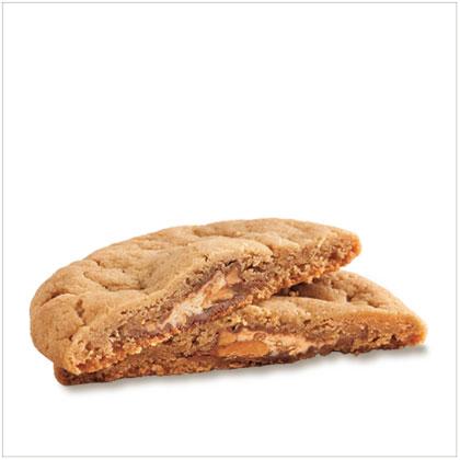 Candy Bar-Peanut Butter Cookies