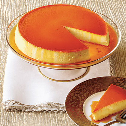 Caramel-Cream Cheese Flan