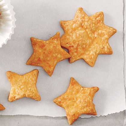 Spicy Cheddar Appetizer Cookies Recipe