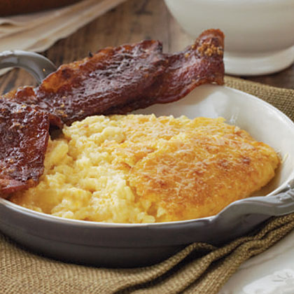 Cheddar Cheese Grits Casserole