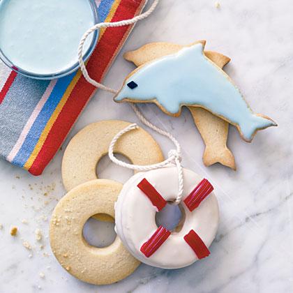 Coastal Cutout CookiesRecipe
