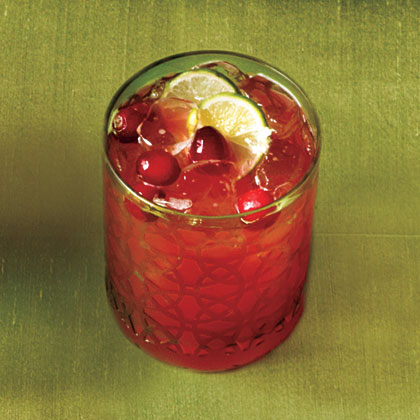 Cranberry Key-Lime Punch