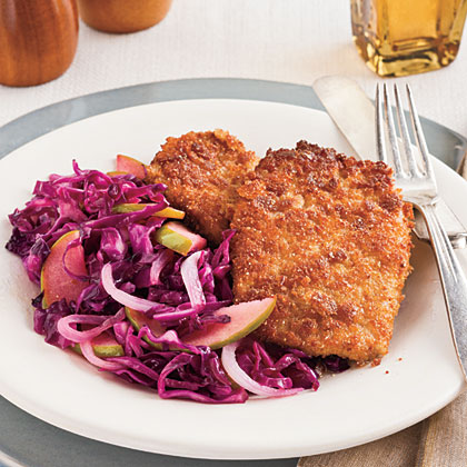 Cumin-Crusted Pork Cutlets