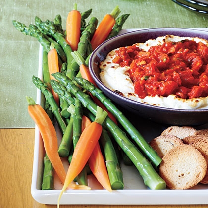 Baked Goat Cheese Dip Recipe