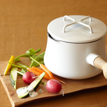 <p>Goat Cheese Fondue</p>