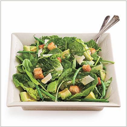 Green Salad with White Wine Vinaigrette