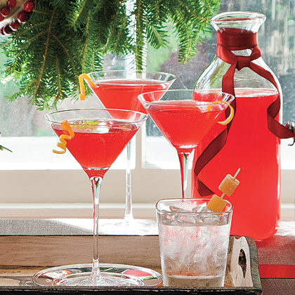 Cranberry-Moonshine Cocktail