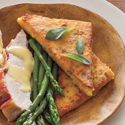 Pan-Fried Polenta Recipe