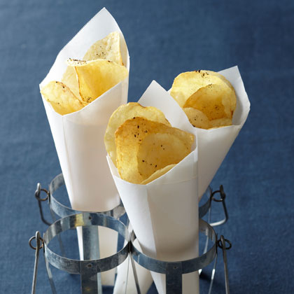 <p>Potato Chips + Truffle Oil</p>