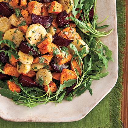 Roasted Root Vegetable Salad Recipe 0 Myrecipes