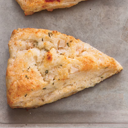 Rosemary, Pear, and Asiago Scones