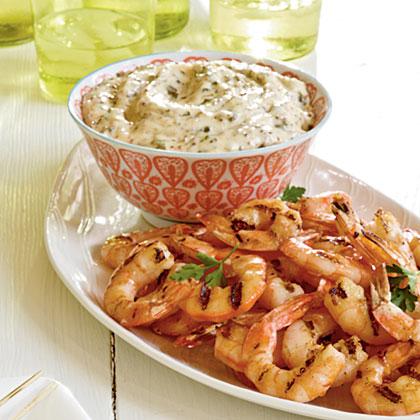 Grilled Shrimp with RemouladeRecipe
