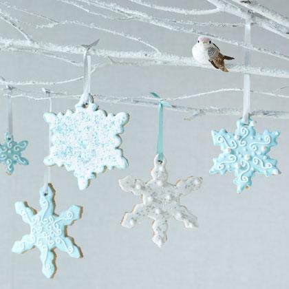 <p>Snowflake Cookies</p>