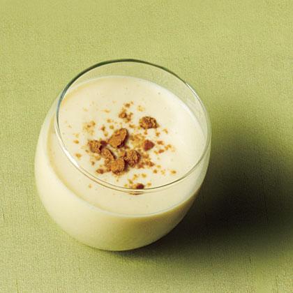Creamy Sorghum Eggnog