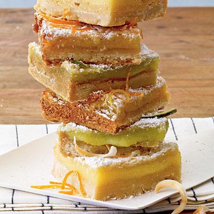 Sunny Citrus Bars Recipe