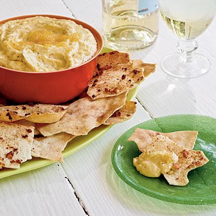Taramasalata with Pita Chips
