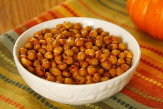 Roasted Chickpeas with Moroccan Seasoning