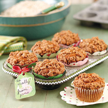 Mom's Applesauce Muffins