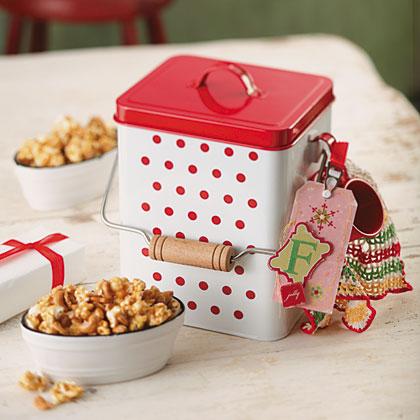 Honey Popcorn & CashewsRecipe